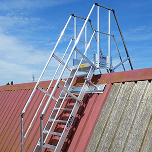 Access means - fall protection system