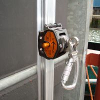 VERTIC's VERTIRAIL vertical fall protection rail system