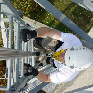 VERTIC's VERTIRAIL vertical fall protection system