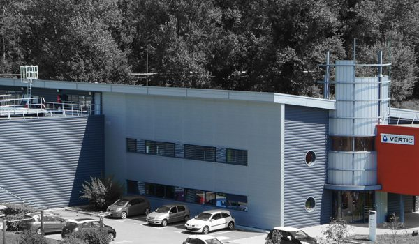 VERTIC's headquarter in Bernin - Safety at height specialist