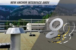 ANOV-VERTIC pivoting anchor point